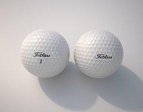 3D PBR Golf Ball
