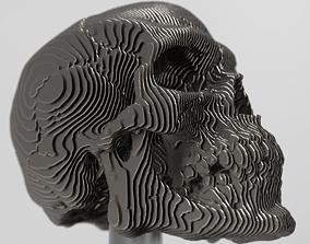 3D skull decoration