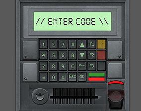 3D model Access Control Panel