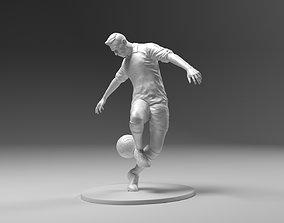 3D print model Footballer 03 Heelstrike 01 Stl