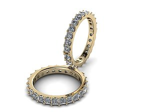 Eternity Jewelry Ring 004 3D print model