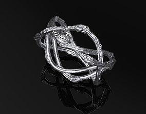 Ring Tree Branch 3D print model