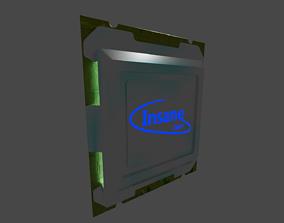 3D asset Insane Core Processor