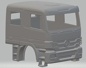 Mercedes Actros Double Cabin Printable Truck