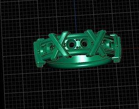 3D print model ring XXX