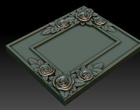 3D printable model Decorative frame 9
