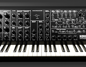 3D Synthesizer Korg MS20