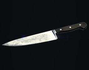 Kitchen Knife 3D asset