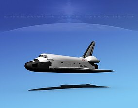 Space Shuttle Endeavour Basic LP 1-1 3D