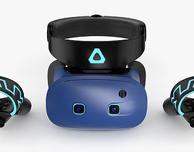 3D model HTC Vive Cosmos Set