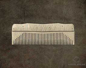 3D model Viking comb