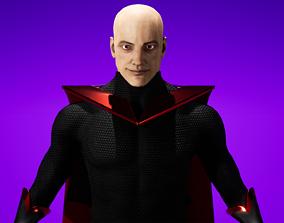 Superhero - UE4 Customizable Character 3D asset
