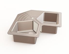 3D Kitchen sink 26