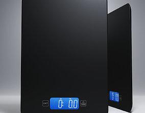 Kitchen scales 3D