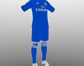 3D asset Real Madrid soccer kit
