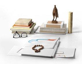 sculpture Worktable Composition 3D
