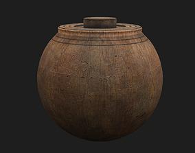 3D asset Medieval Spinning Top