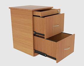 Filing Cabinet Drawer 3D asset