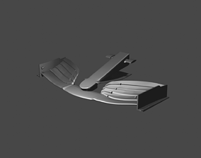 MERCEDES F1 FRONT WING 3D PRINTABLE automotive