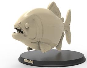 Piranha Printable