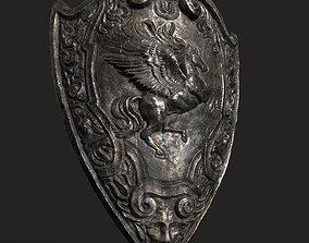 Medieval Shield 3D asset realtime