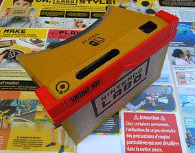 3D print model Virtual boy case for Nintendo labo