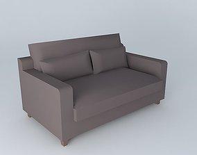 interior 3D Comfortable sofa
