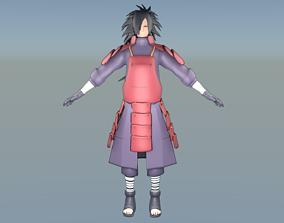 Madara Uchiha Model Full rigged Animated animated