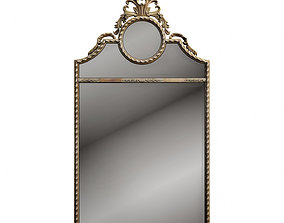 classic Uttermost Peggy mirror 3D