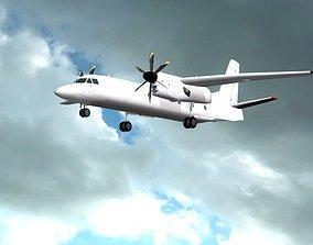 Antonov An-132 3D asset