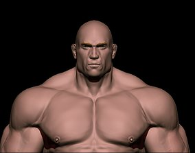 3D STRONG BODYBUILDER FIGHTER