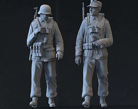 German soldiers 3D printable model war