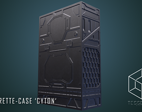 Cigarette Case CYTON 3D model