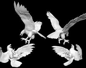 3D model USAF eagles