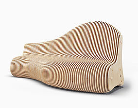 furniture Parametric bench 3D