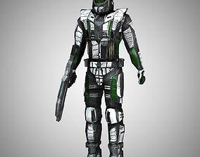 3D model Recon Trooper Stand-Alone Human Figure