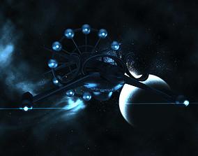 3D Alien Spaceship
