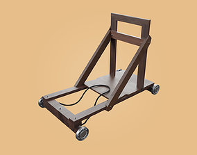Trolley-cart with ball bearings 3D model