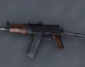 3D asset AKS-74 U