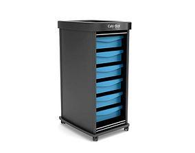 Black Beauty Parlor Storage 3D