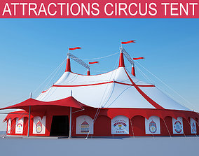 3D components Circus tent