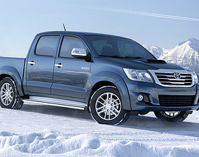 heavy Toyota Hilux 3D