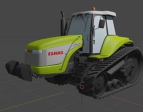 3D asset Claas Challenger 55