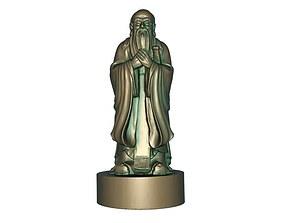 3D print model Confucius