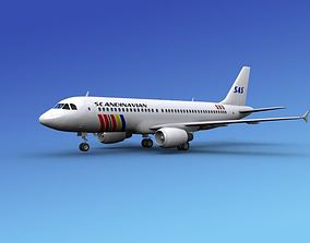 3D Airbus A320 SAS