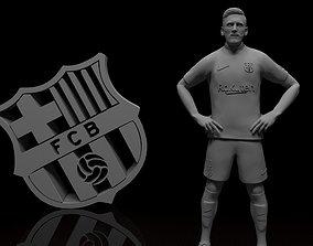 Lionel Messi Barcelona football player 3d model Stl files