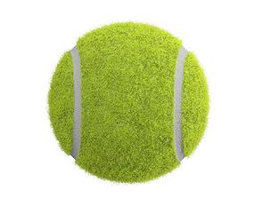 3D model deuce Tennis Ball