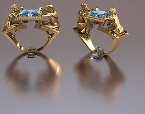 love ring 3D printable model jewelry jewel