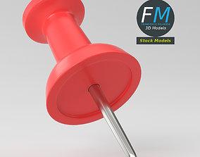 3D model PBR Push pin