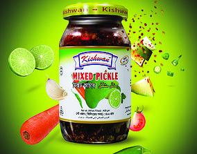 3D Pickle Bottle